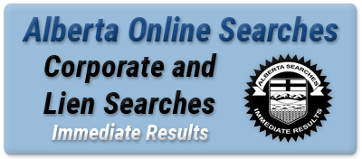 Alberta Online Searches - Corporate and Lien Searches
